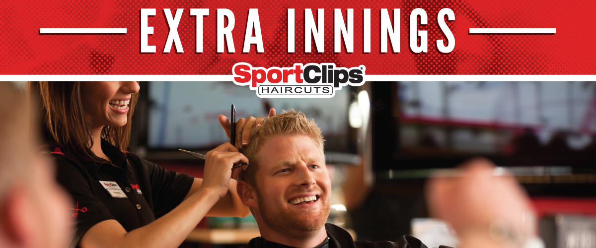 The Sport Clips Haircuts of Bradley Extra Innings Offerings
